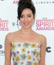 Aubrey Plaza at the 2013 Film Independent Spirit