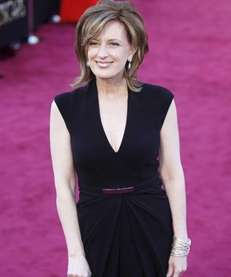 Anne Sweeney arrives at the 85th Academy Awards