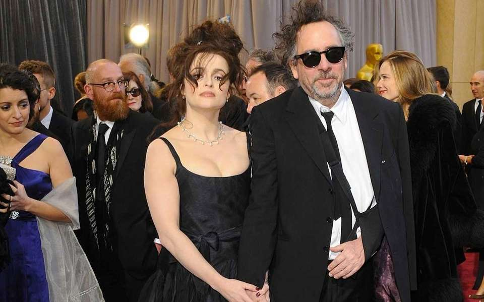 Helena Bonham Carter and Tim Burton, who worked