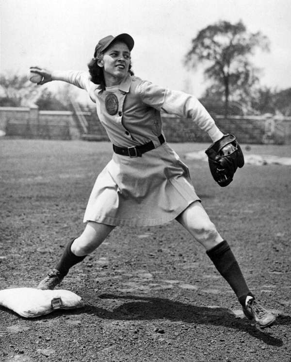This undated image provided by the AAGPBL Players