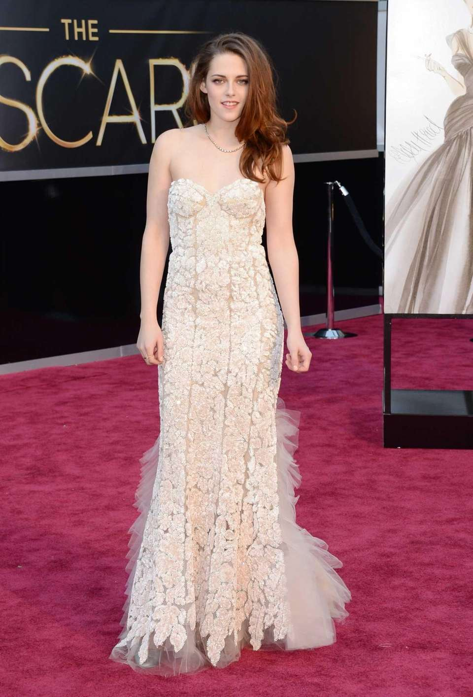 Kristen Stewart arrives at the Oscars at Hollywood