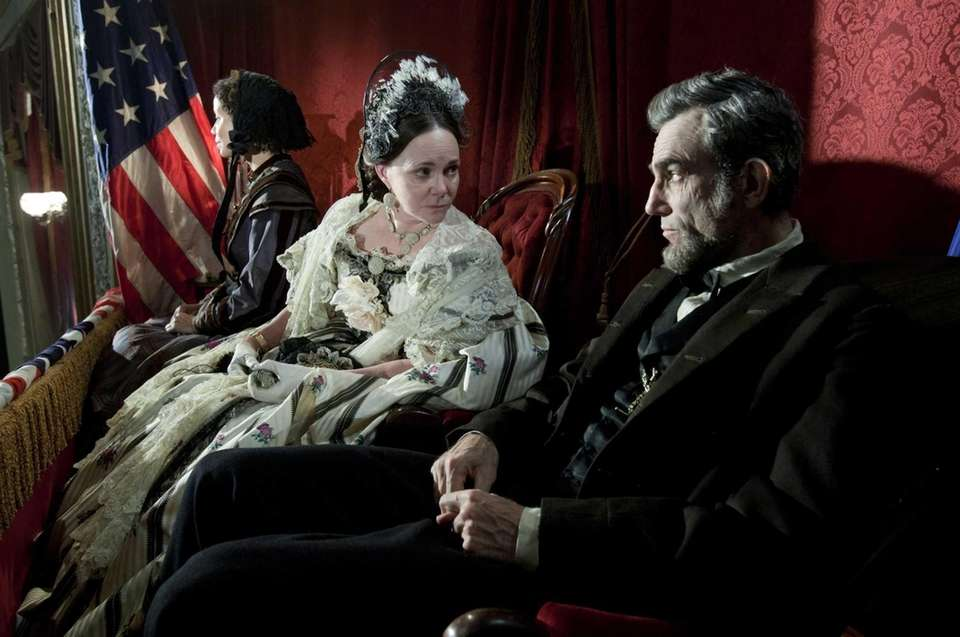 Daniel Day-Lewis, who co-starred with Sally Field, won