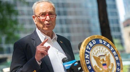 U.S. Sen. Chuck Schumer said he will urge