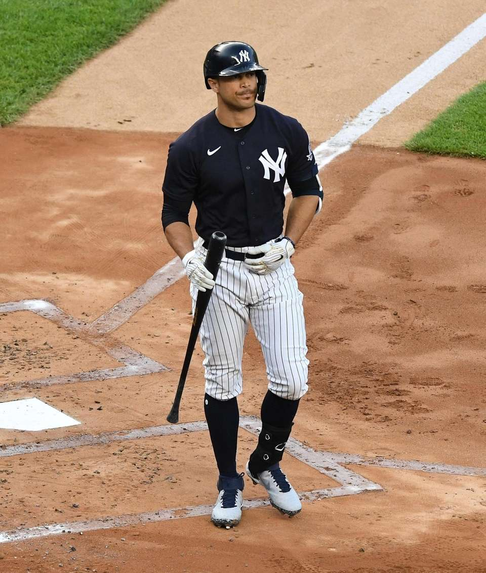 Yankees designated hitter Giancarlo Stanton returns to the