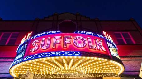 The Suffolk Theater on Main Street in Riverhead