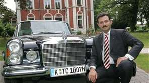 Turk Fevzi Cebe, president of the Union of