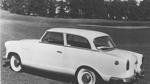 The Rambler American, a compact car manufactured by