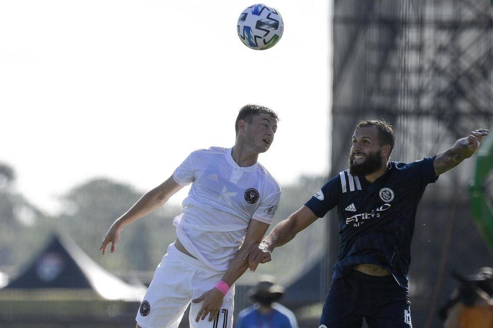 Matias Pellegrini #11 of Inter Miami CF and