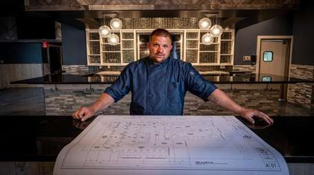 Steven Del Lima, chef and owner of Hooks