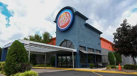 Dave & Busters, a restaurant, is among numerous