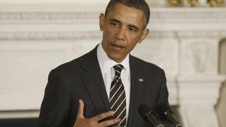 President Barack Obama addresses the National Governors Association