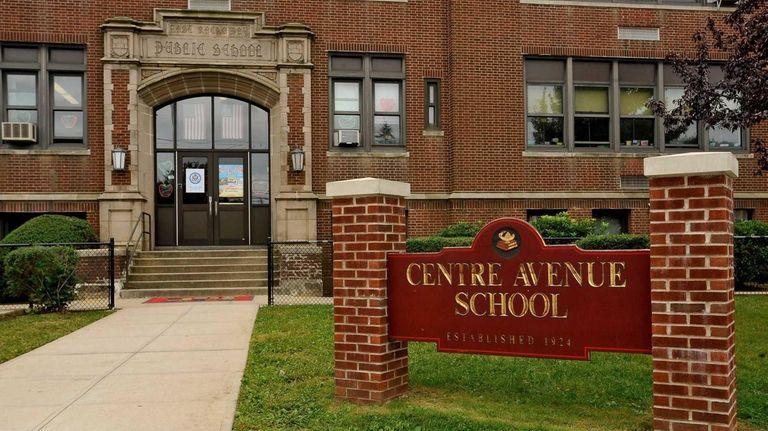 The Centre Avenue Elementary School in East Rockaway