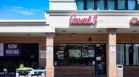 The Carvel ice cream store at 181 Forest