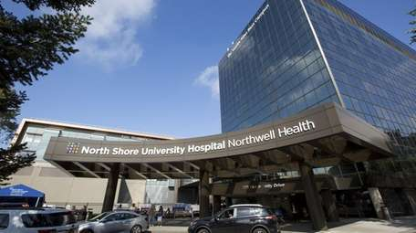 Four nurses from North Shore University Hospital in