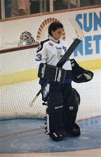 MANON RHEAUME Hockey On Sept. 23, 1992, Rheaume