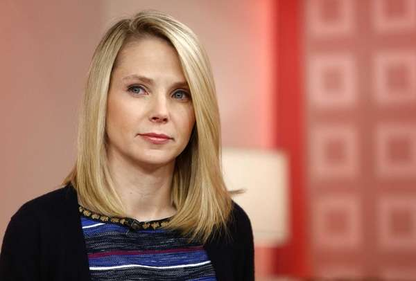 Yahoo CEO Marissa Mayer appears on NBC News'