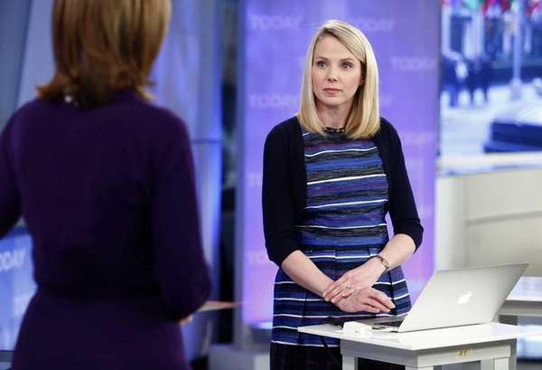 "Yahoo CEO Marissa Mayer on NBC News' ""Today"""