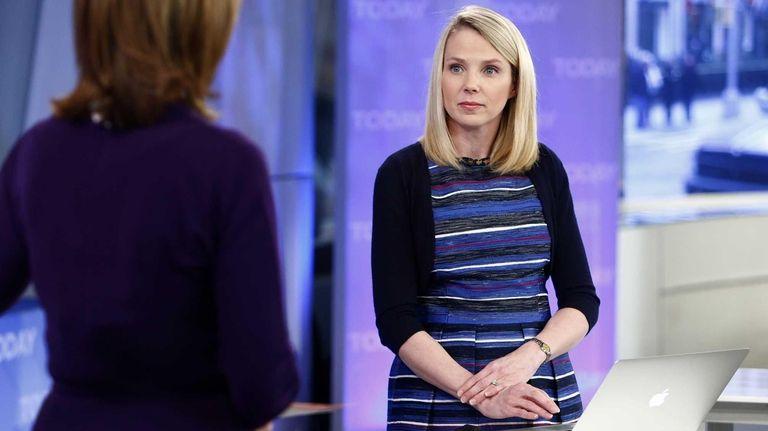 Yahoo CEO Marissa Mayer on NBC News'