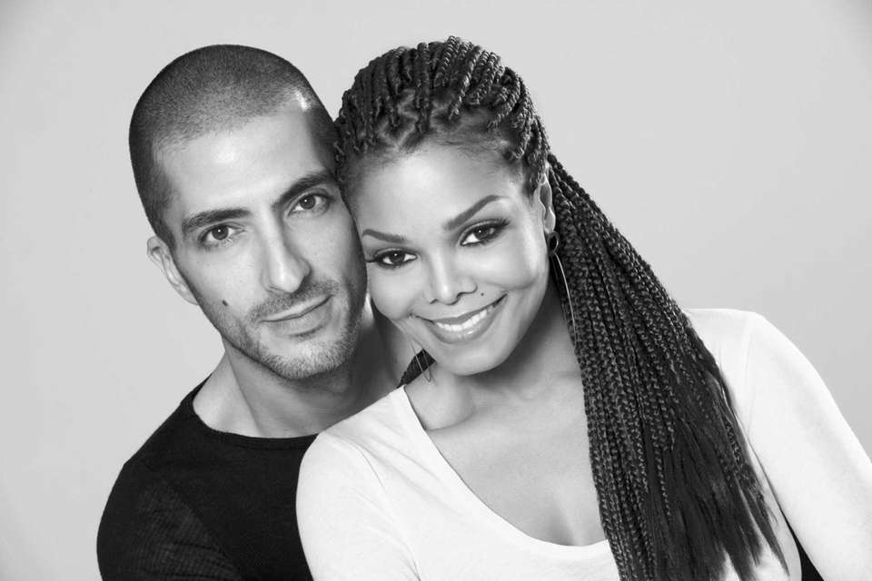 Janet Jackson and Wissam Al Mana in a