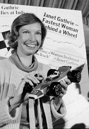 Before Danica Patrick, there was Janet Guthrie. In