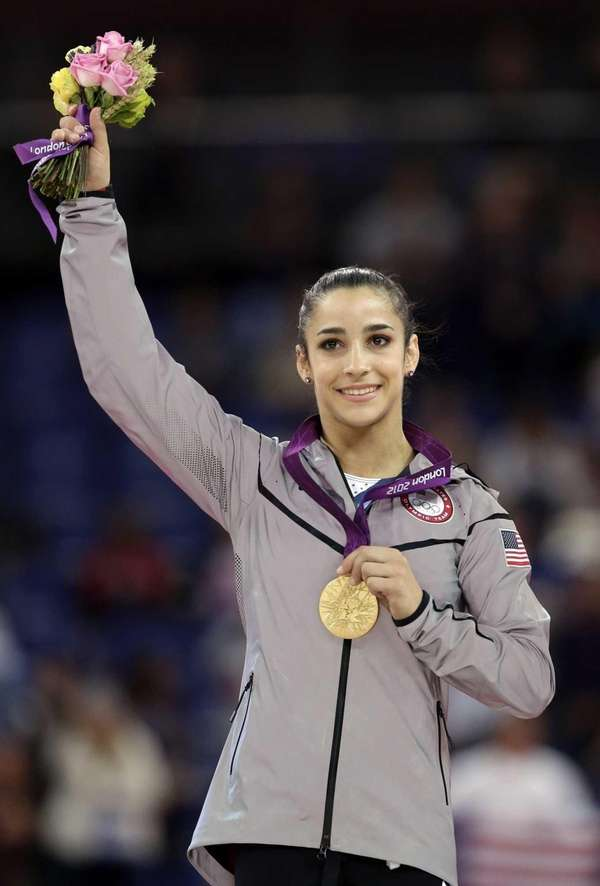 Gold medal-winning Olympic gymnast Aly Raisman is one