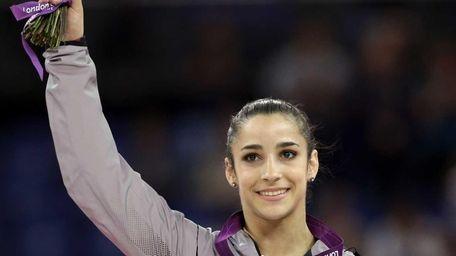 Gold medal-winning Olympic gymnast Aly Raisman is one