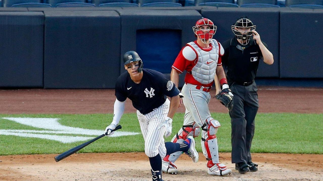 Yankees sluggers Aaron Judge and Luke Voit discuss