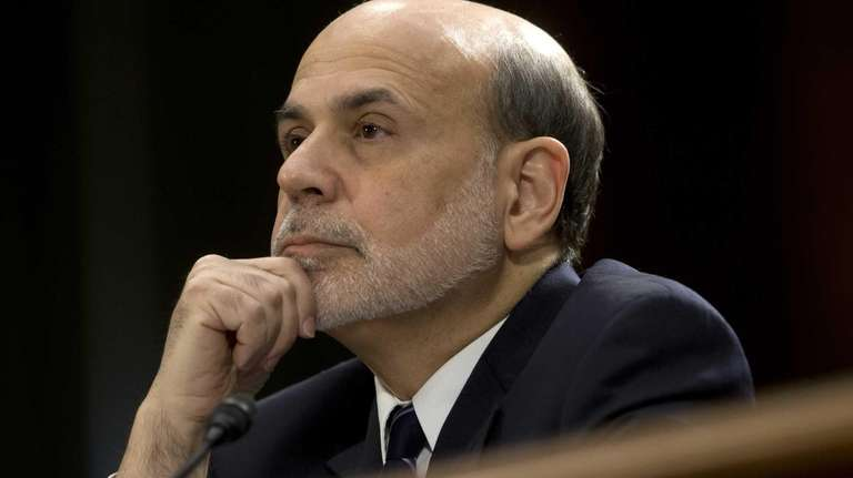 Federal Reserve Board Chairman Ben Bernanke testifies before