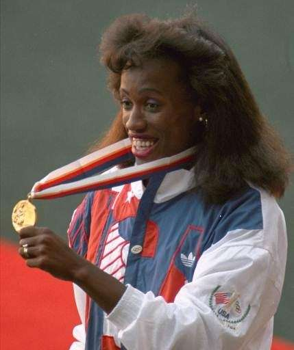 One of the most decorated female Olympians in
