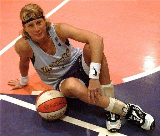 Lieberman became the first woman to play in