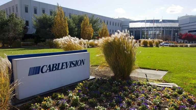Cablevision's Bethpage headquarters is seen in this undated