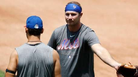 Mets first baseman Pete Alonso and outfielder Michael