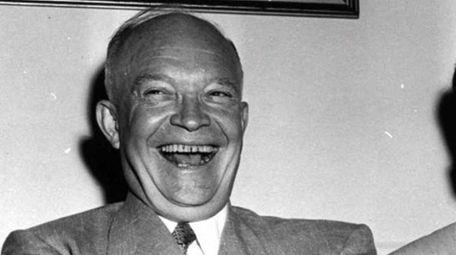 FILE--Gen. Dwight D. Eisenhower, left, and Sen. Richard