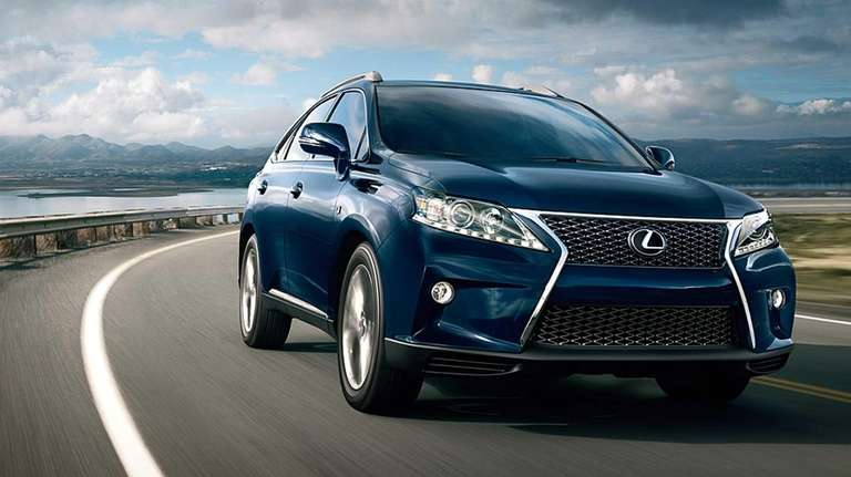 Lexus vehicles such as the F sport, above,