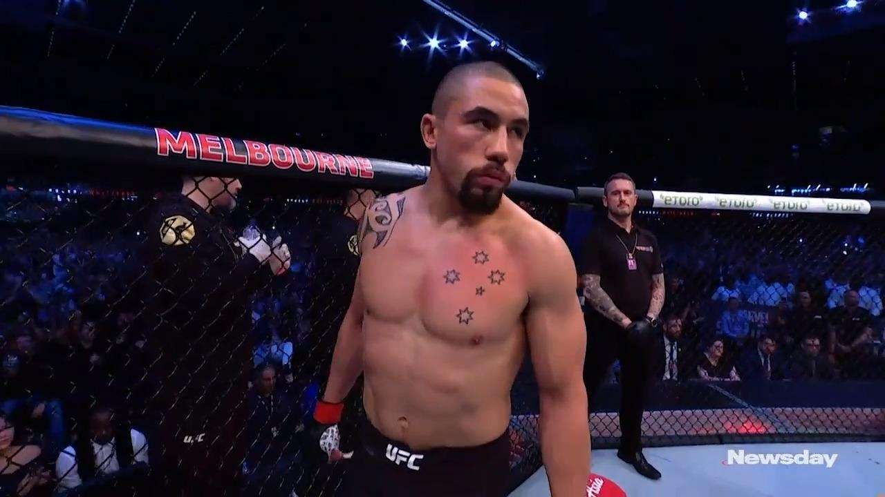 Robert Whittaker and Darren Till spoke about how