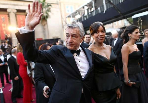 Robert De Niro and Grace Hightower arrive at