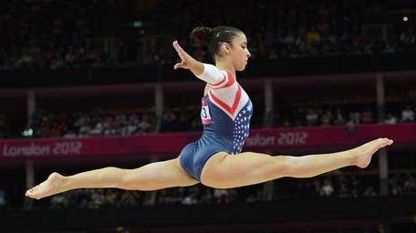 Olympic gymnast Aly Raisman