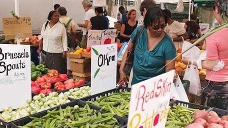 Pick up local produce at the Brooklyn Borough