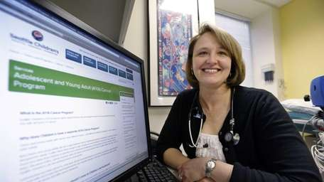 Dr. Rebecca Johnson, a cancer specialist at Seattle