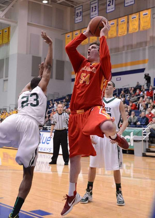 Chaminade's Michael Walsh goes up for the basket