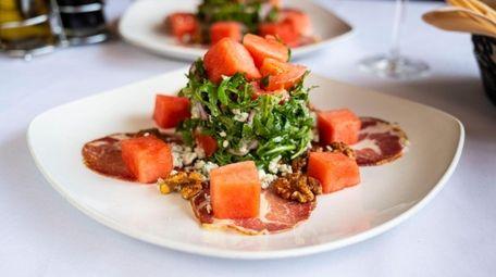Watermelon salad at Meta Osteria & Barra in