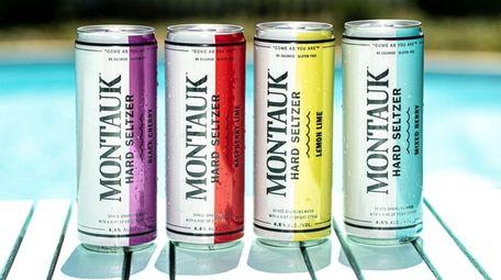Montauk Brewery hard seltzer.