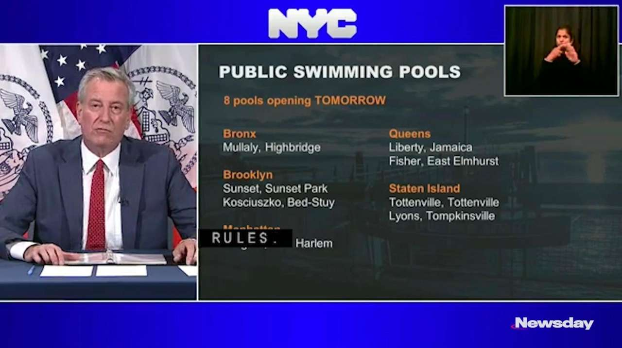 Some New York City public pools will reopen
