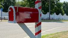 "A mailbox intended for early ""Letters to Santa"""