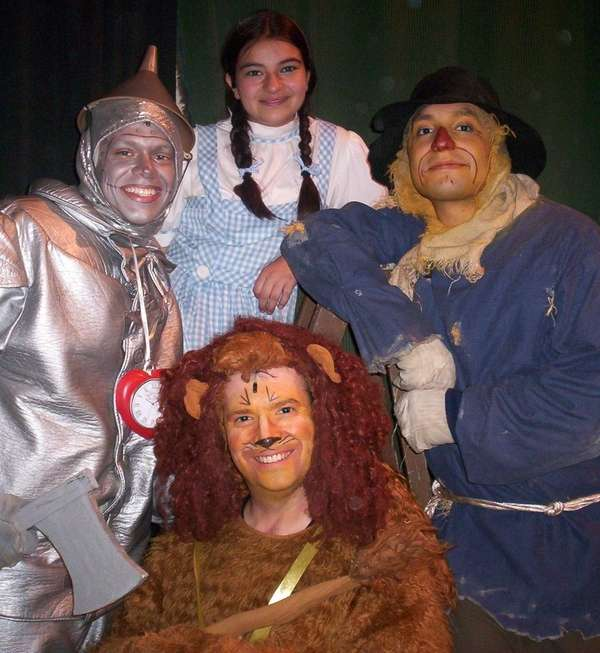 """The Wizard of Oz"" performance takes place in"