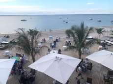 The Crescent Beach Club in Bayville, which is