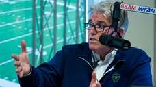 Mike Francesa during his show at the WFAN