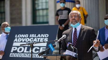 Attorney Frederick Brewington representing the newly-formed Long Island