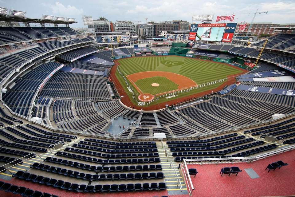The New York Yankees and the Washington Nationals