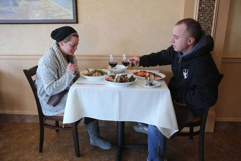 Diners enjoy a meal at SaVino's. (Feb. 16,